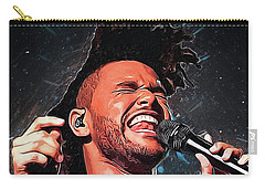 The Weeknd Carry-all Pouch by Semih Yurdabak