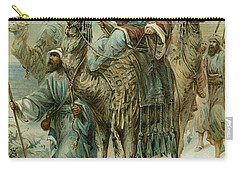 The Wise Men Seeking Jesus Carry-all Pouch by Ambrose Dudley