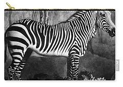 The Zebra Carry-all Pouch by George Stubbs