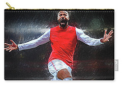 Thierry Henry Carry-all Pouch by Semih Yurdabak