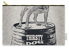 Thirsty Dog Brewing Co. Keg Carry-all Pouch by Edward Fielding