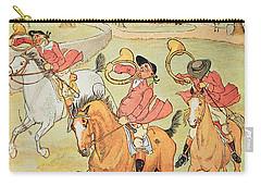 Three Jovial Huntsmen Carry-all Pouch by Randolph Caldecott