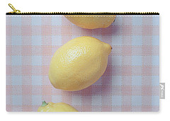 Three Lemons Carry-all Pouch by Edward Fielding