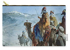 Three Wise Men Carry-all Pouch by Henry Collier