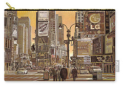 Times Square Carry-all Pouch by Guido Borelli