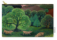 Totally Organic  Carry-all Pouch by Lisa Graa Jensen