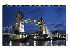 Tower Bridge Carry-all Pouch by Amanda Barcon
