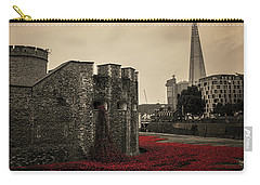 Tower Of London Carry-all Pouch by Martin Newman