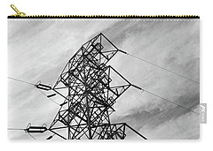 Transmission Tower No. 1-1 Carry-all Pouch by Sandy Taylor
