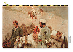 Traveling In Persia Carry-all Pouch by Edwin Lord Weeks