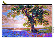 Tree Of Tranquillity Carry-all Pouch by Jane Small