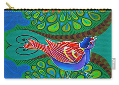 Tree Sparrow Carry-all Pouch by Jane Tattersfield