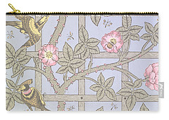 Trellis   Antique Wallpaper Design Carry-all Pouch by William Morris