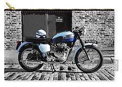 Triumph Bonneville T120 Carry-all Pouch by Mark Rogan