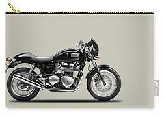 Triumph Thruxton Carry-all Pouch by Mark Rogan