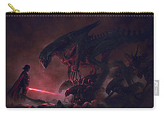 Troopers Vs Space Cockroaches 9 Carry-all Pouch by Guillem H Pongiluppi