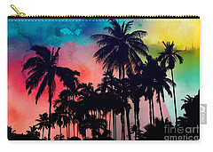 Tropical Colors Carry-all Pouch by Mark Ashkenazi