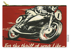 Tt Races 1961 Carry-all Pouch by Georgia Fowler