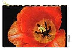 Tulip Macro Carry-all Pouch by Kenneth Clinton