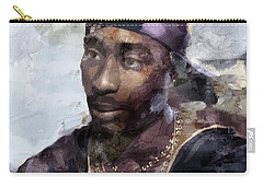 Tupac 74333359 Carry-all Pouch by Jani Heinonen