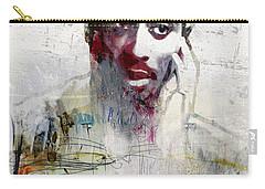 Tupac Graffitti 2656 Carry-all Pouch by Jani Heinonen