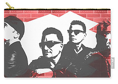 U2 Graffiti Tribute Carry-all Pouch by Dan Sproul