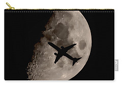 Under The Moons Shadow Carry-all Pouch by Martin Newman