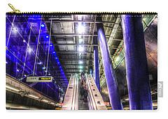 Underground Escalator Carry-all Pouch by David Pyatt