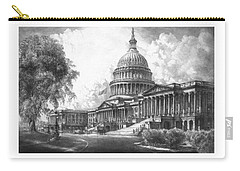 United States Capitol Building Carry-all Pouch by War Is Hell Store