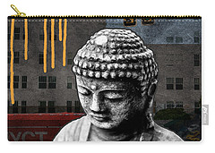 Urban Buddha  Carry-all Pouch by Linda Woods