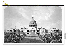 Us Capitol Building - Washington Dc Carry-all Pouch by War Is Hell Store