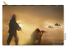 U.s. Special Forces Provide Security Carry-all Pouch by Tom Weber