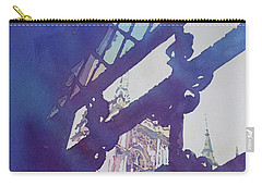 View From The Cloister Carry-all Pouch by Jenny Armitage
