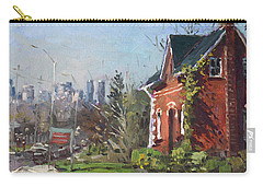 View Of Mississauga City Carry-all Pouch by Ylli Haruni
