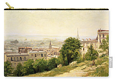 View Of Paris Carry-all Pouch by Stanislas Victor Edouard Lepine