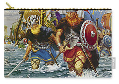 Vikings Carry-all Pouch by Jack Keay
