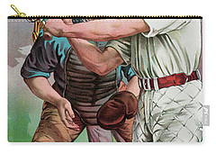 Vintage Baseball Card Carry-all Pouch by American School