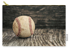 Vintage Baseball Carry-all Pouch by Terry DeLuco