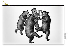 Vintage Dancing Bears Carry-all Pouch by Edward Fielding