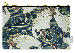Vintage Wallpaper Design Carry-all Pouch by English School