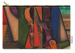 Violin And Guitar Carry-all Pouch by Juan Gris
