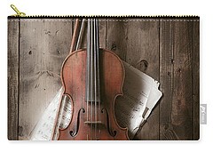 Violin Carry-all Pouch by Garry Gay