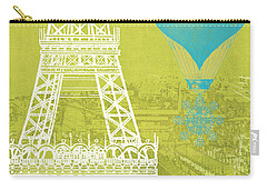 Viva La Paris Carry-all Pouch by Mindy Sommers