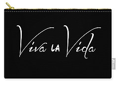 Viva La Vida Carry-all Pouch by Liesl Marelli