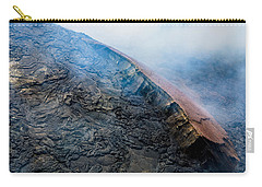 Carry-all Pouch featuring the photograph Volcanic Ridge by M G Whittingham