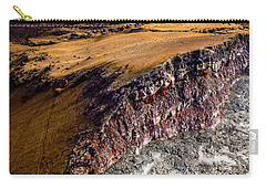 Carry-all Pouch featuring the photograph Volcanic Ridge II by M G Whittingham