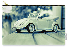 Vw Beetle Convertible Carry-all Pouch by Jon Woodhams