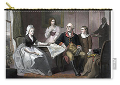 Washington And His Family Carry-all Pouch by War Is Hell Store