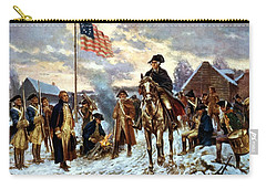 Washington At Valley Forge Carry-all Pouch by War Is Hell Store