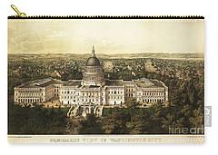 Washington City 1857 Carry-all Pouch by Jon Neidert
